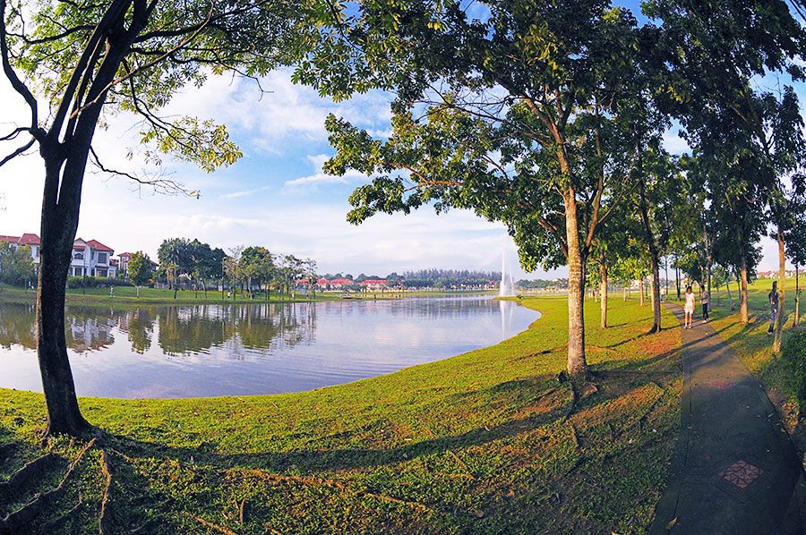 khu-do-thi-kotakemuning-malaysia