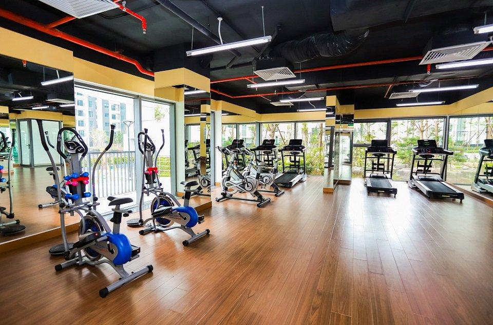 Phòng Gym chung cư The Zen Residence