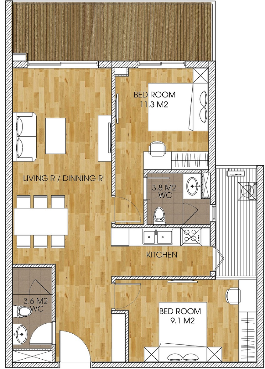 the-two-residence