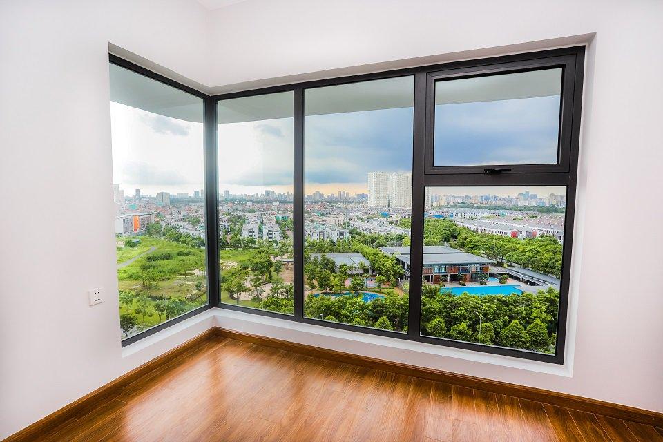 Tầm nhìn tuyệt đẹp từ căn hộ the zen gamuda