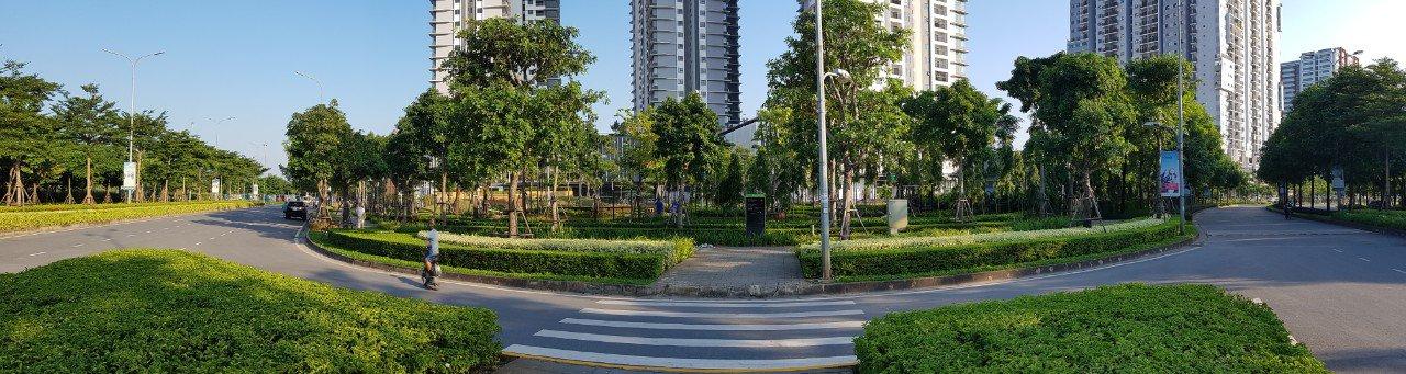 Toàn cảnh khu chung cư Gamuda Garden