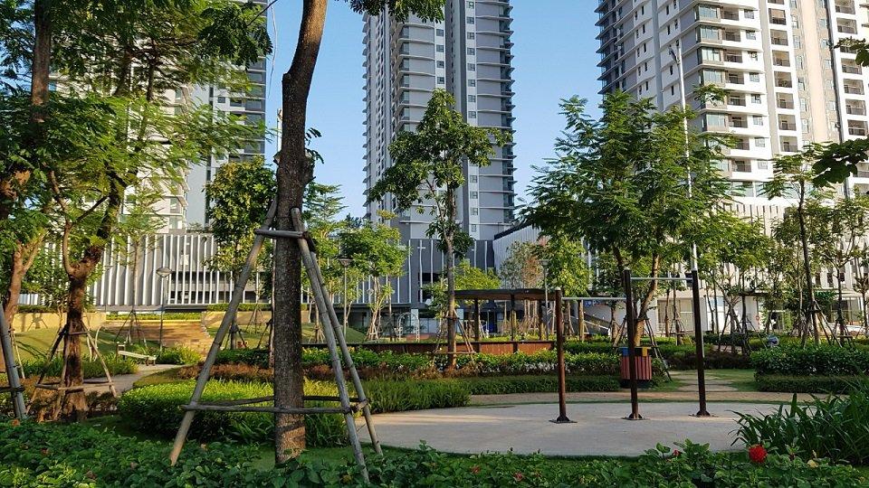 công viên vui chơi cho trẻ em tại The ZEN Residence
