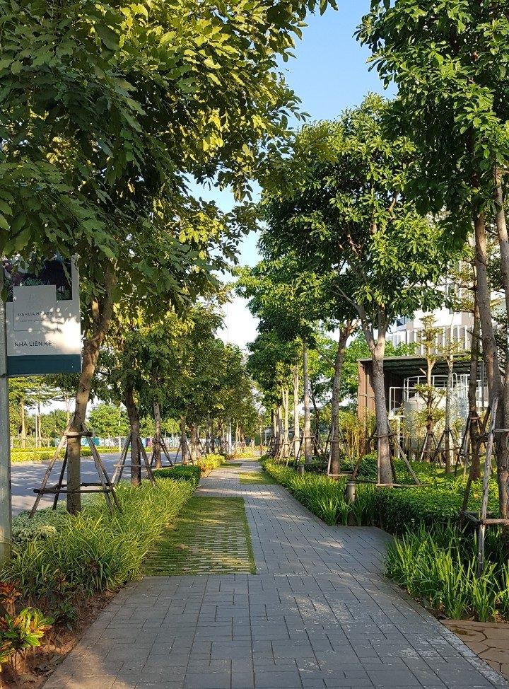 Đường dạo bộ riêng cho cư dân The ZEN Residence