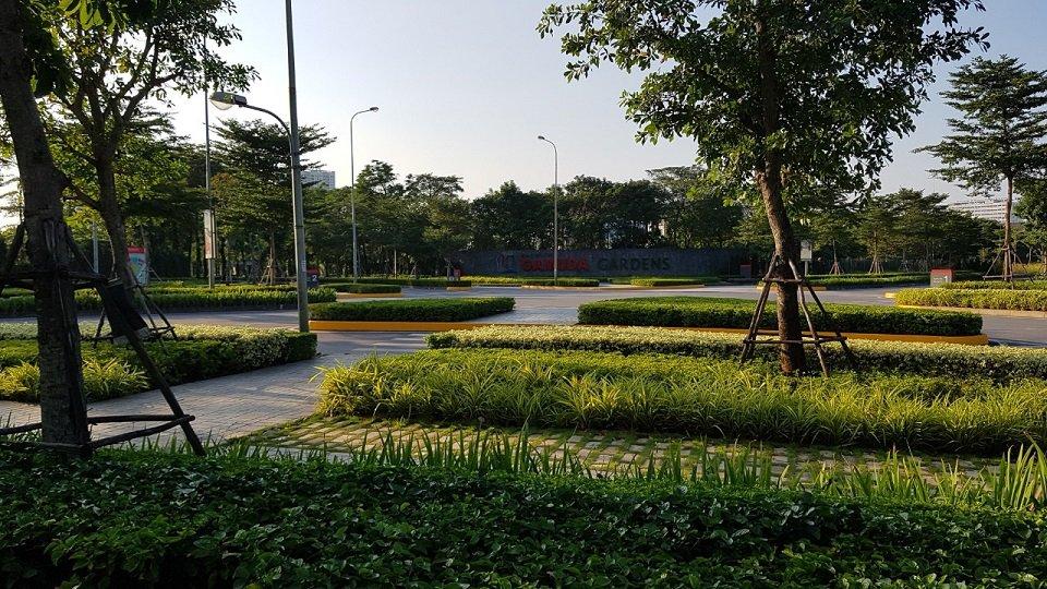 Không gian xanh Gamuda Gardens