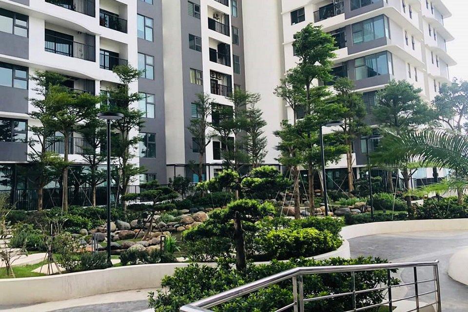 Bán căn hộ sân vườn tầng 5 chung cư the zen