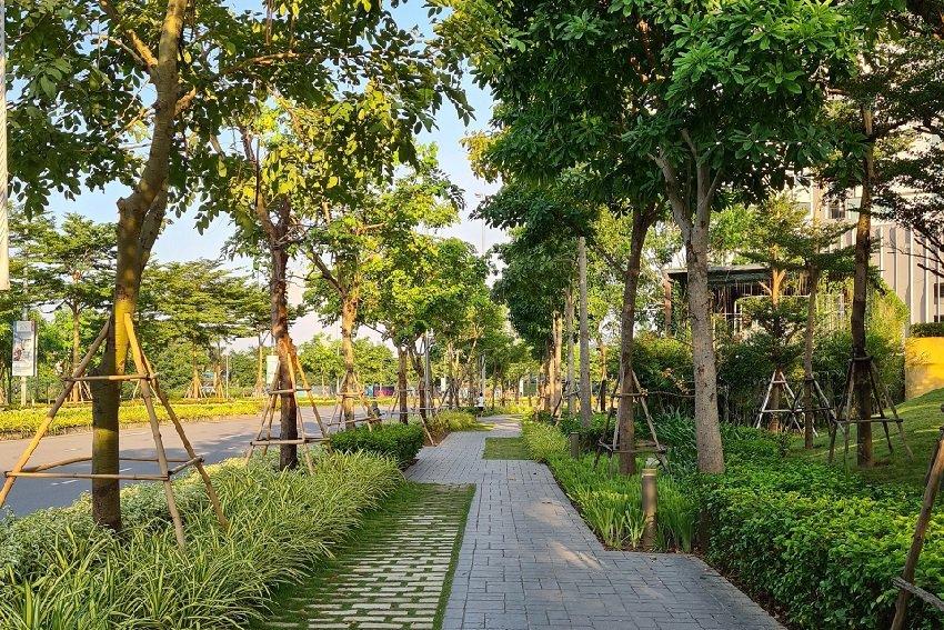 Đường dạo bộ cho cư dân The Zen Gamuda