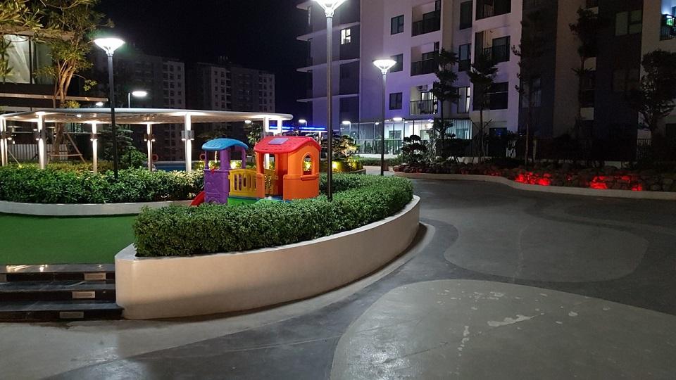 Nhiều không gian vui chơi cho trẻ em