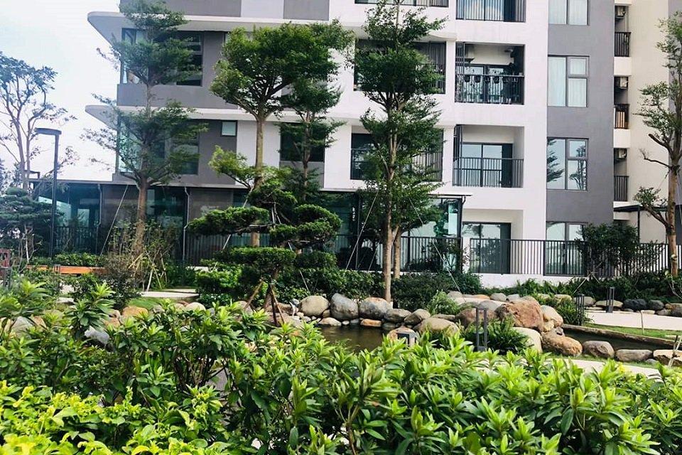 Sân vườn tầng 5 zen residence